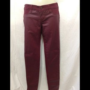 Junior size 3 HOLLISTER stretch faux leather jean